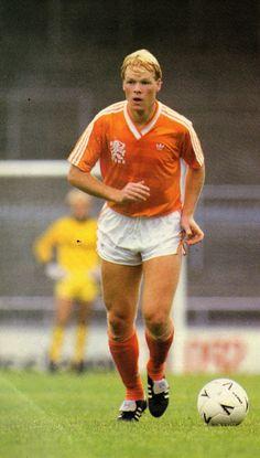 Ronald Koeman of Holland in 1988.