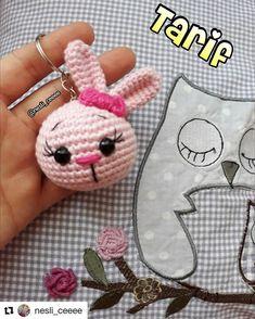 Mesmerizing Crochet an Amigurumi Rabbit Ideas. Lovely Crochet an Amigurumi Rabbit Ideas. Crochet Bunny Pattern, Crochet Rabbit, Crochet Patterns Amigurumi, Amigurumi Doll, Crochet Dolls, Kawaii Crochet, Cute Crochet, Crochet Baby, Crochet Chain