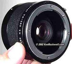 Nikon TC-200 & TC201
