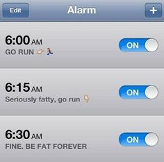 Or getting some exercise: | 18 Sure-Fire Methods For Getting Out Of Bed In The Morning