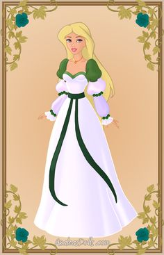Odette { Green Dress 2 } by ~kawaiibrit on deviantART