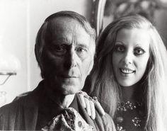Portret van Carel Willink en zijn vrouw en model Mathilde Willink.  1970. Plaats onbekend.