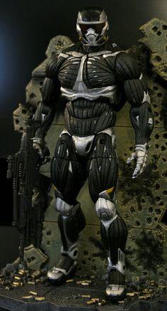 Nanosuit 2.0, de la línea de Neca del juego Crysis 2