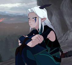 Rayla Dragon Prince, Prince Dragon, Dragon Princess, Dragon Prince Season 3, Animation Series, Reaction Pictures, Cartoons, Geek Stuff, Fandoms