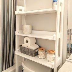 Zipcode Design Hoschton Ladder Spacesaver 24.9 W x 61.5 H Over the Toilet Storage & Reviews | Wayfair