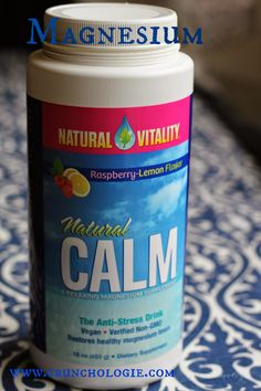 Magnesium: Perfect for sore muscles, trouble sleeping and pregnancy in general!