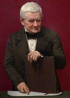 Christoffer W. Eckersberg  by Johna Vilhelm Gertner 1850