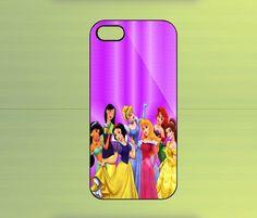 Disney Princesses Custom Case For iPhone 4/4S, iPhone 5/5S/5C, Samsung Galaxy S2/S3/S4, Blackberry Z10