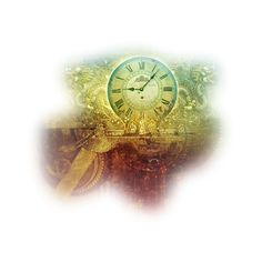 logane_mistedhorloge_07septembre2011.png ❤ liked on Polyvore featuring steampunk, clocks, backgrounds and time