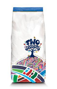 30 Creative Coffee Packages - The Dieline - Two Seasons