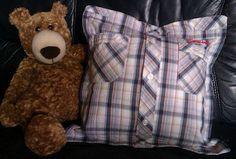 Aus Hemd wird Kissen