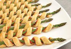 Asparagus appetizer