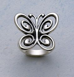 Abounding Spring Butterfly Ring #jamesavery