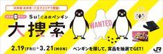 スマホdeラリー Suicaのペンギン大捜索