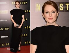 Julianne Moore In Balenciaga – 'Non Stop' Paris Premiere