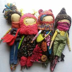 Ropa muñecas de tela