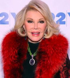 Joan Alexandra Molinsky (previously Rosenberg; born June 8, 1933), known by her stage name Joan Rivers, is an American actress, comedian, writer, producer and television host, best known for co-hosting the E! celebrity fashion show Fashion Police. She has been a staple on numerous award red carpet specials….