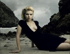 Scarlett Johansson in Beautiful Beach Photoshoot by Annie Leibovitz (1) - The Phoblographer