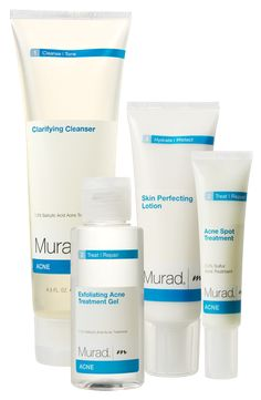 Acne Complex Kit by Murad. This is the best acne stuff ever! Everyone should use this if they have acne problems and it will totally help your skin