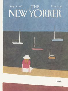 The New Yorker - Monday, August 29, 1983 - Issue # 3054 - Vol. 59 - N° 28 - Cover by : Heidi Gonnel