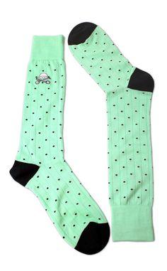 Choco Chip Mints socks