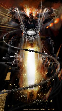 Ghost Rider by Uwe De Witt