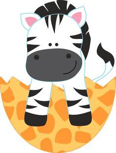 Easter Zebra