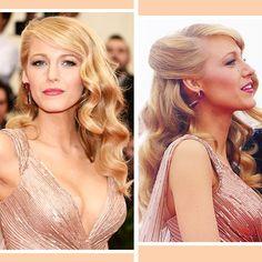 Blake Lively Hollywood Waves Hair Tutorial