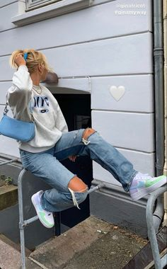 Indie Outfits, Teen Fashion Outfits, Retro Outfits, Girly Outfits, Cute Casual Outfits, Stylish Outfits, Tomboy Fashion, Look Fashion, Streetwear Fashion
