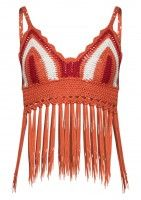 April Orange Crochet Bralet, Summer style, download this press image at www.prshots.com #summer #fashion #sun #beach #holiday #women #trend #style #press #blogger