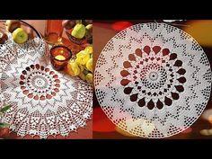 CROCHET Doily Tutorial How to crochet Part 5 - YouTube