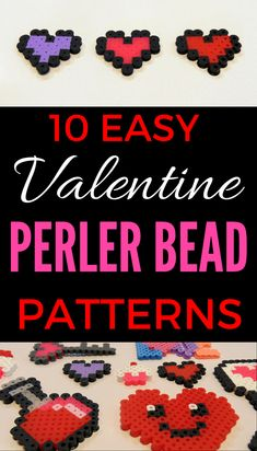 Easy Valentine Perler Bead Patterns