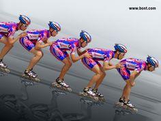 inline speed skating wallpaper - Google Search