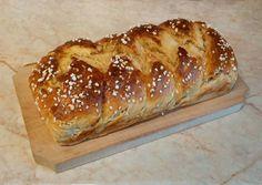 Foszlós vajas kalács recept foto Hot Dog Buns, Hot Dogs, Bread, Recipes, Cooking Ideas, Panda, Food, Brot, Essen