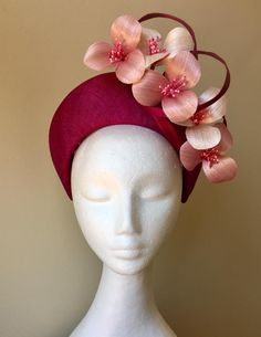 My Hat millinery Flapper Headpiece, Fascinator Hats, Headdress, Fancy Hats, Cool Hats, Race Day Hats, Halo Headband, Royal Clothing, Melbourne Cup