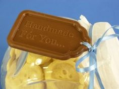 Really impress your family and friends this year with chocolate gift tags! edible gift tag silicone chocolate mould@ £5.50 + VAT