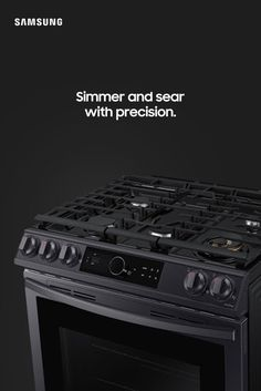From the flexibility of our cooktop to the size of our oven, every detail simplifies your meal prep. Major Kitchen Appliances, Kitchen Stove, Diy Kitchen, Kitchen Gadgets, Kitchen Design, Kitchen Decor, Cooking Gadgets, Kitchen Ideas, Slide In Range