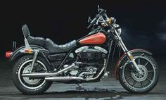 1983 FXR Last Shovelhead, although they did use the engine through mid '84, to finish up stock.