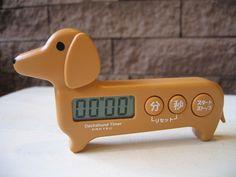 Doxie kitchen timer.