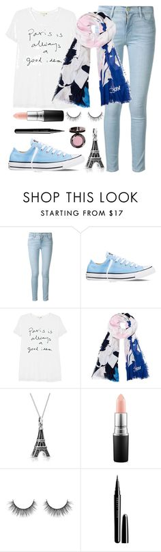 """Bonjour!"" by sophiecoops ❤ liked on Polyvore featuring Frame Denim, Converse, Sundry, Diane Von Furstenberg, Bling Jewelry, MAC Cosmetics, Marc Jacobs, Urban Decay, women's clothing and women"