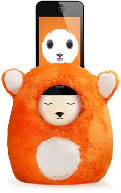 Ubooly. I'll be more inclined to let her play with my iPhone 5 if it's in a stuffed animal