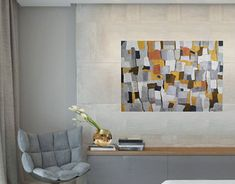 New Work, Photo Wall, Behance, Abstract, Gallery, Frame, Check, Creative, Painting