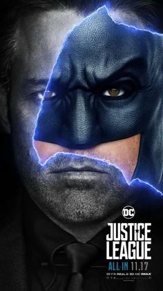 Justice League Movie Poster 2017 Featuring Ben Affleck as Bruce Wayne aka Batman in Upcoming Movie DigitalEntertainm. Zack Snyder Justice League, Watch Justice League, Justice League 2017, Batman Comic Art, Batman Vs Superman, Batman Robin, Batman Poster, Batman Arkham, Dc Movies