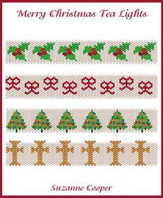 MERRY CHRISTMAS TEA LIGHTS, Sova Enterprises
