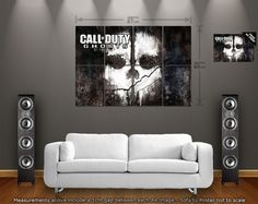 Call of Duty Ghosts PS3 Xbox 360 PC  Large Giant by IllusionFX, $20.00