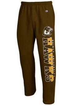 Product: Quincy University Hawks Open Bottom Sweatpants
