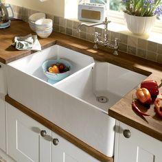 86 best Ceramic Kitchen Sinks images on Pinterest | Ceramic kitchen ...