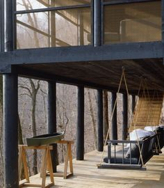 McAlpine Tankersley Architecture Shack Porch | Remodelista