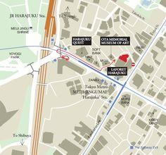 Access MAP, Tokyo Adventist Dental Clinic