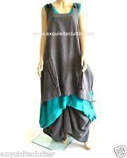 Completo Lino Lagenlook Linen Parachute Skirt OSFA 14,16,18,20,
